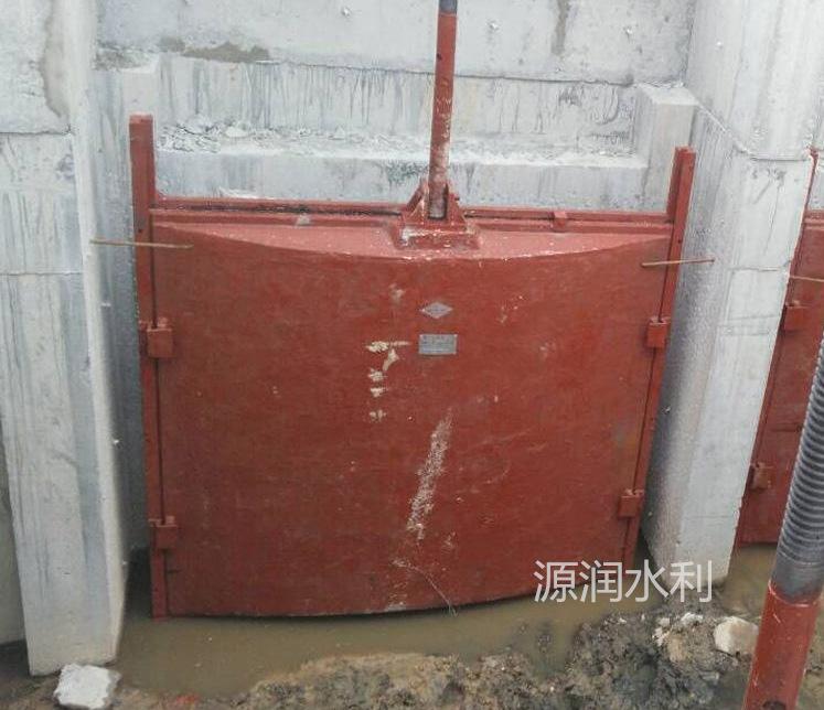 绵阳水利工程铸铁镶铜闸门